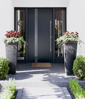 Aluminium Front Doors - Lakes Doors on