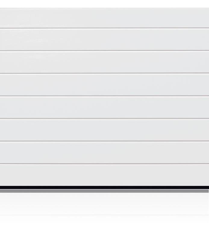 Garador Linear Medium (Traffic White)