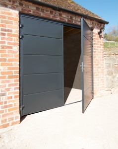 Carteck solid horizontal anthracite grey