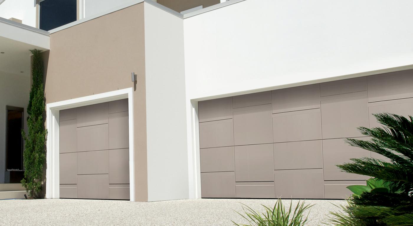 complimentary garage door from Lakes Garage Doors