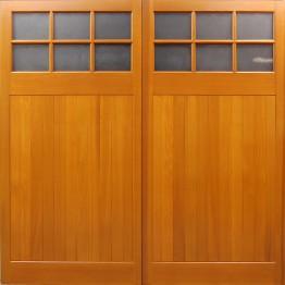 Cedar Door Middleton Side Hinged Lakes Garage Doors