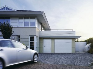 Novoferm sectional garage doors