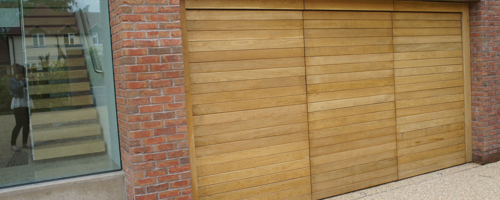 770 #6D4A2C Bespoke Garage Doors Cheshire Lakes Garage Doors picture/photo Oak Garage Doors 38491920