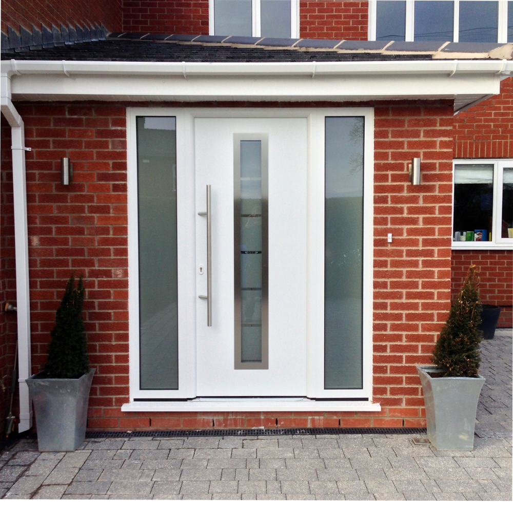 Front doors lancashire lakes doors for Porch garage