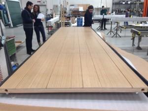 Oak Overlap Panel