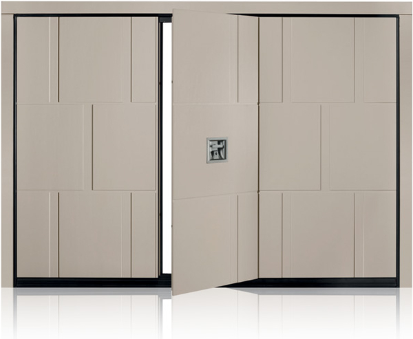This will ensure that the door does not protrude. silvelox-slot & Silvelox Slot Garage Door - Lakes Doors