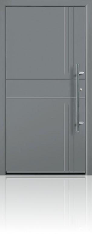 Groke 12680 grey aluminium
