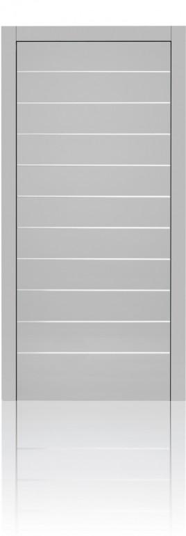 Silvelox For Front door in Silk Grey