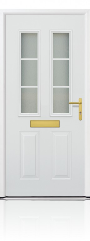Garador FGS 400 white door