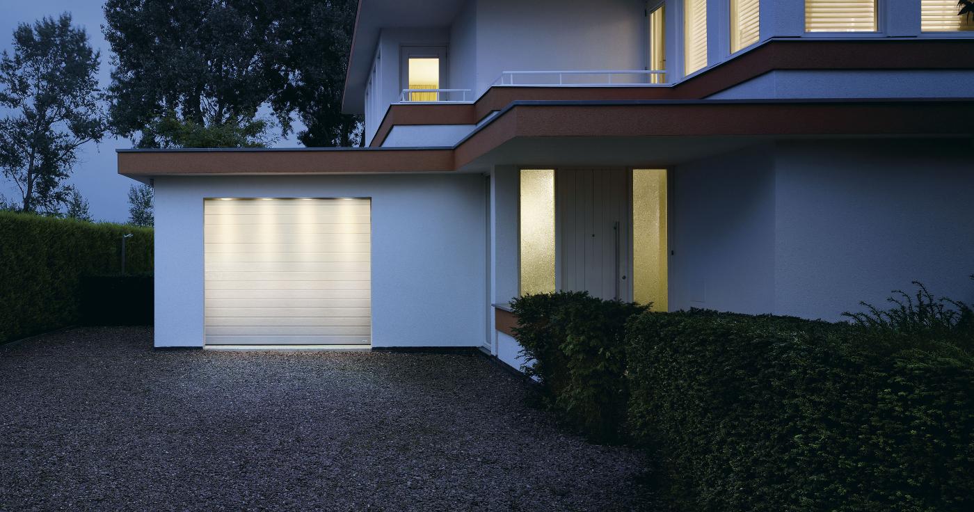 garage door double cotech horizontal products