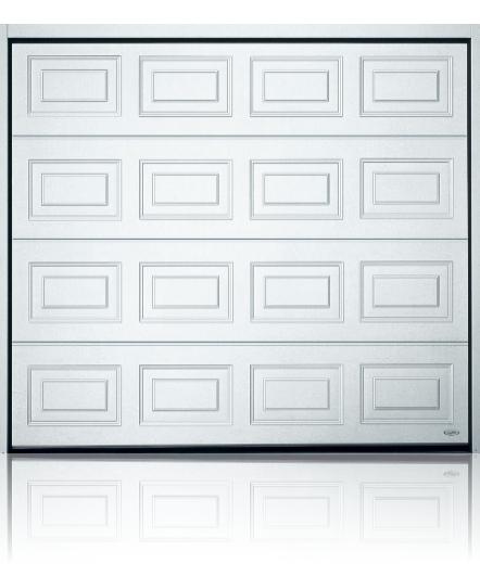 Novoferm ISO 45 Panelled Traffic White