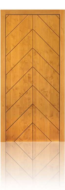 Silvelox SPI front door in Northern Spruce