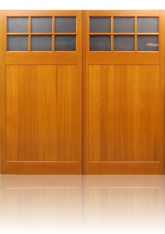 Cedar Door Edale Side Hinged garage door