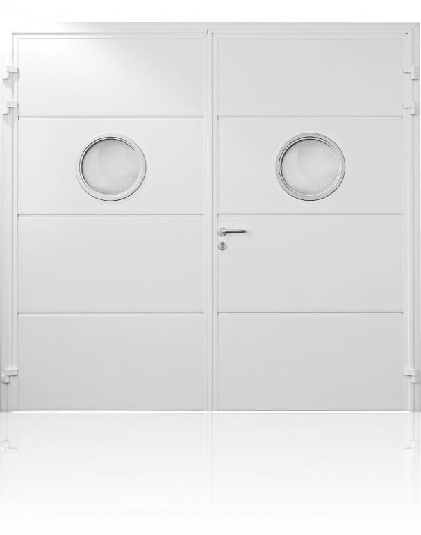 Carteck Solid Horizontal Porthole Windows