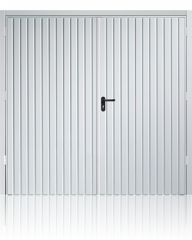 Garador Carlton Side Hinged-handle (Traffic White)