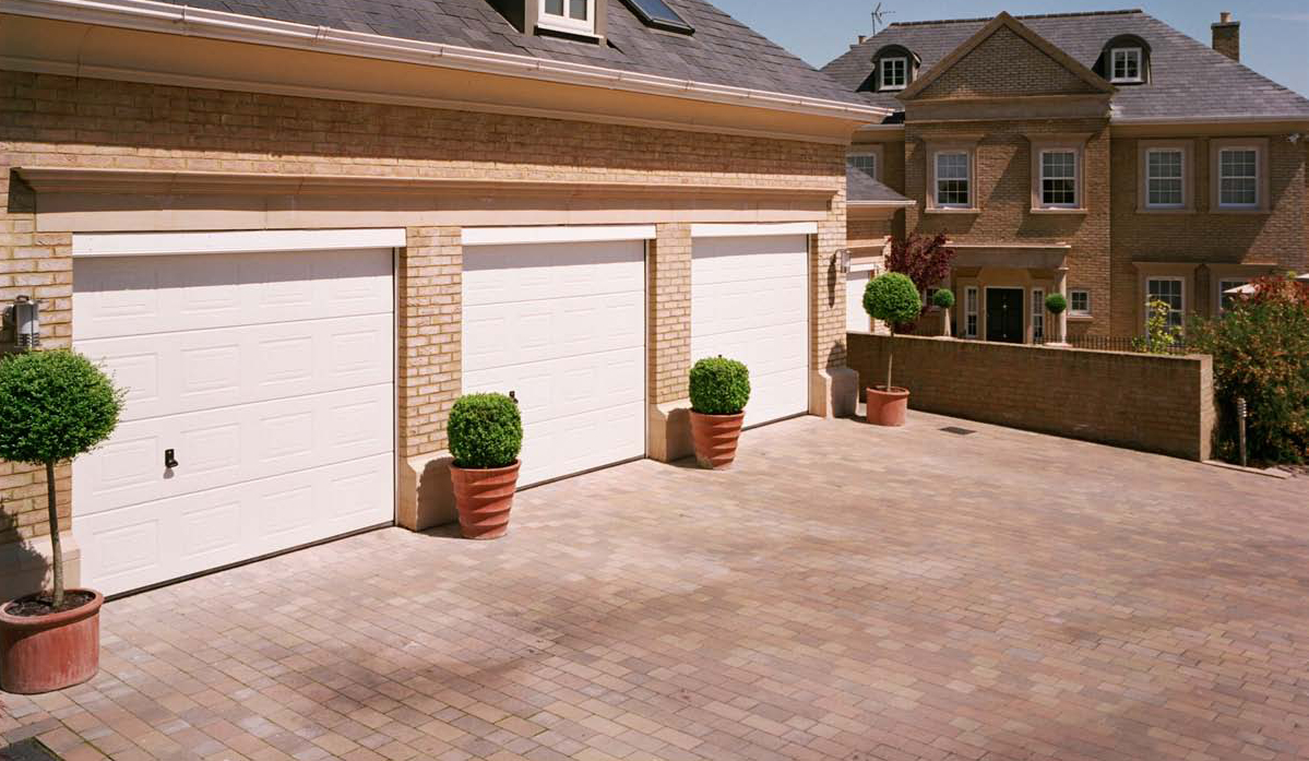 Garador Georgian Sectional Garage Door