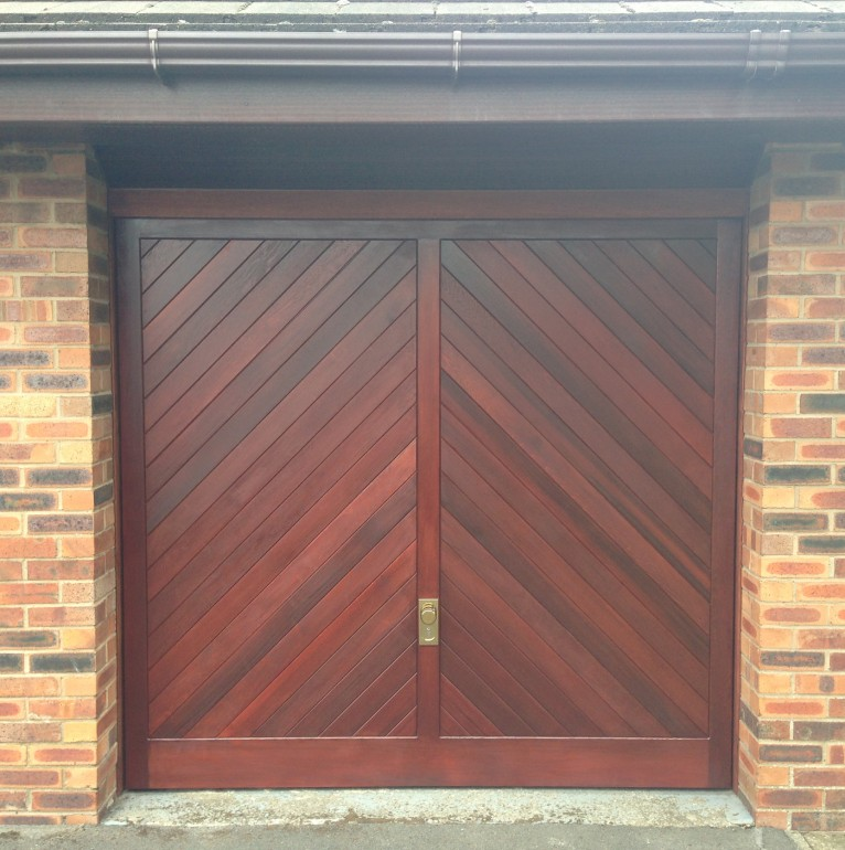 Timber garage doors Chorley