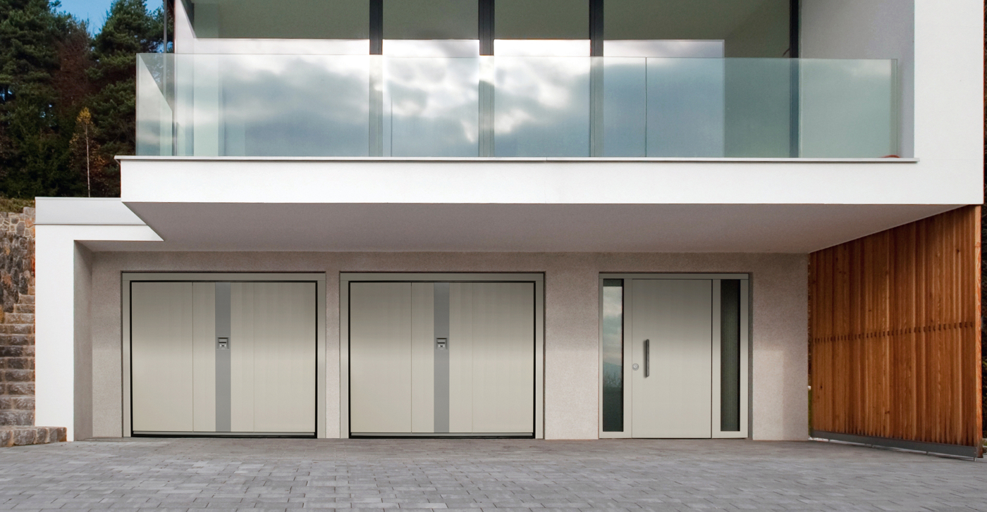 Silvelox Flat Garage Door